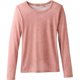 Prana Francie Langærmet T-shirt Damer pink